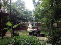 Take wood house for rent in Wiang Kum Kam Chiangmai, Thailand.