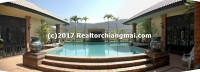 Resort Lanna house for sale in Mae On Chiangmai, Thailand