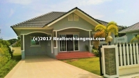 "Single storey house for rent within ""Siriporn Park 5"" San Sai Chiangmai."