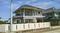 "Double storey house for rent within ""Siriporn Park 5"" San Sai Chiangmai."