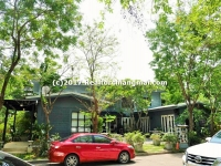 Double Storey House and Business Building for sale in Su-Thep Sub District, Chiangmai, Thailand.