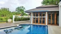 Brand new TOP Quality house with private swimming Pool For rent in ChiangMai, Thailand