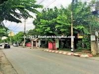 Nice Land for sale in Thipanet Rd., Chiang Mai, Thailand.