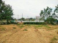 Land for sale in San Phranet, Chiang Mai, Thailand.