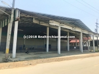 Warehouse for rent in Lamphun, Thailand.