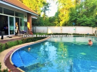 Beautiful House for rent with Private Swimming pool in Hangdong, Chiang Mai.