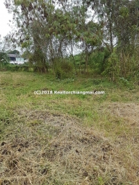 Land for sale in San Kamphaeng, Chiangmai, Thailand.