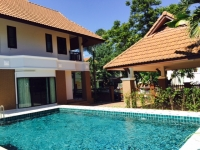 House for rent with Private swimming pool 10 minute to Chiang Mai Town, Chiang Mai, Thailand.