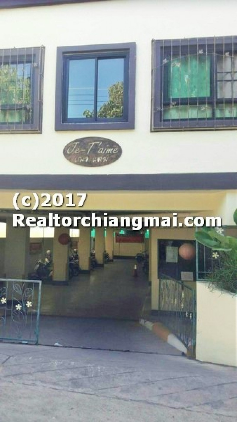 Apartment for Sale near Chiangmai University, Chiangmai, Thailand.
