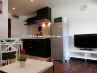 Brand new renovated studio for rent  at Vieng Ping Condominium