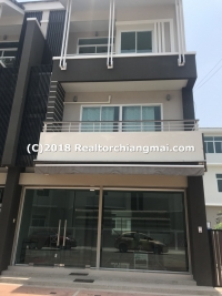 Business for rent in Mahidol Rd. Nong Hoi Sub-District, Chiang Mai Province.
