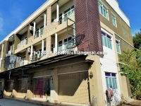 3 Storey Commercial Building for rent in San Sai, Chiangmai, Thailand.
