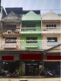 Commercial building for sale opposite Dara Academy Chiangmai School