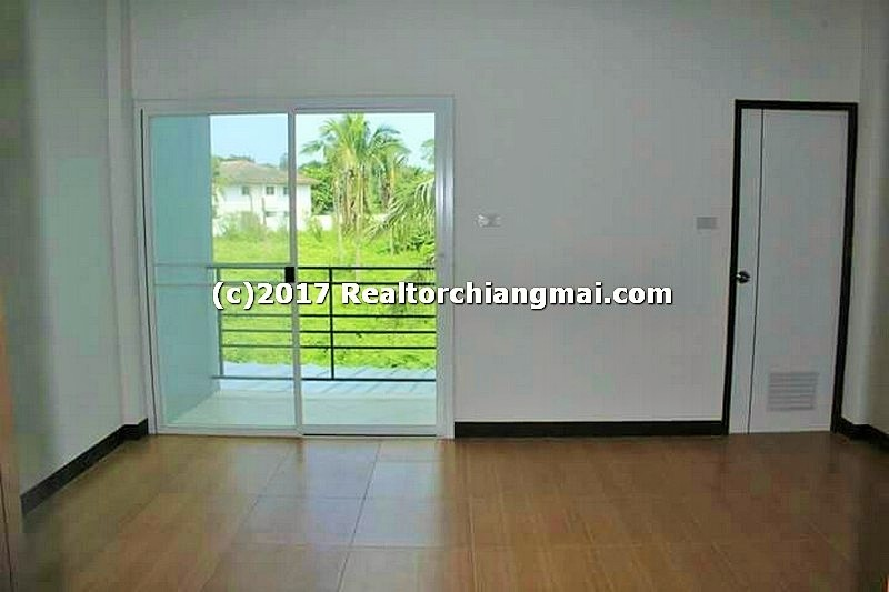 Townhome for rent in Maejo Chiangmai, Thailand.