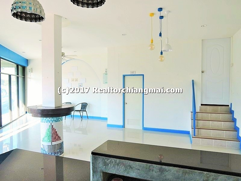 Business building for Rent Near Central Festivai Chiangmai Thailand