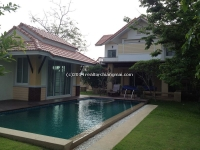 The Modern  Lanna Style  house with swimming pool for rent in, Chiang Mai, Thailand
