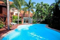 Modern contemporary  house with swimming for rent Ring road1, Chiangmai, Thailand.