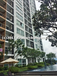 Condominium for rent Near Central Festival Chiangmai, Thailand.