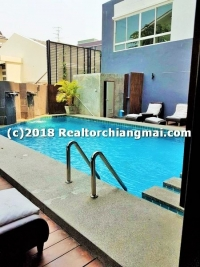 Condo for rent Close to Maya Shopping Mall Chiangmai, Thailand.