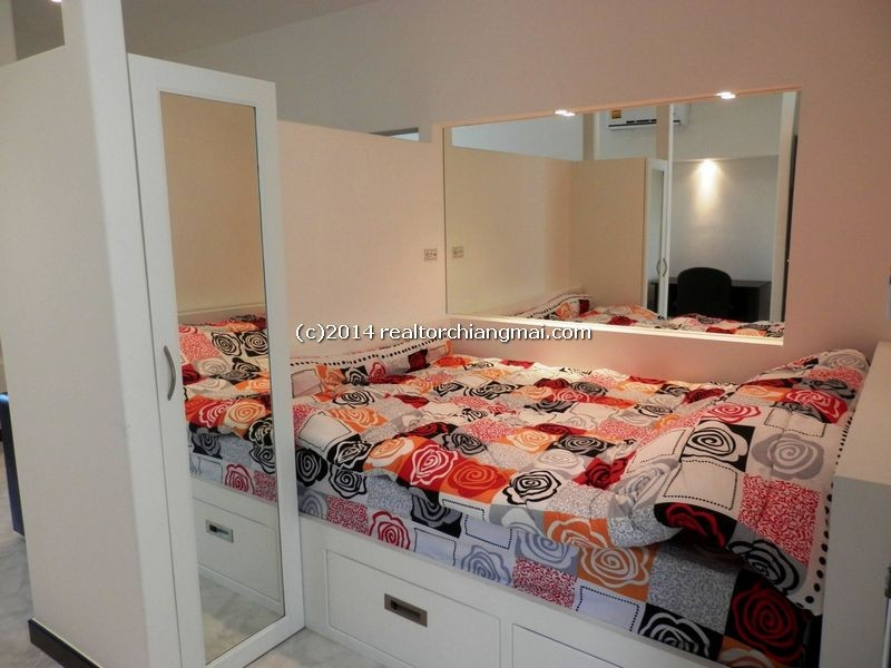 Brand new renovated studio for rent in Chiangmai, Thailand