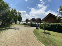 Switzerland style house near Ping River for rent, near Chiang Mai city.