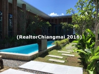 House for Rent with swimming pool  in Hangdong Chiangmai Thailand