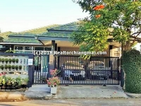 Single storey House for rent in Mae Hia, Chiangmai, Thailand.
