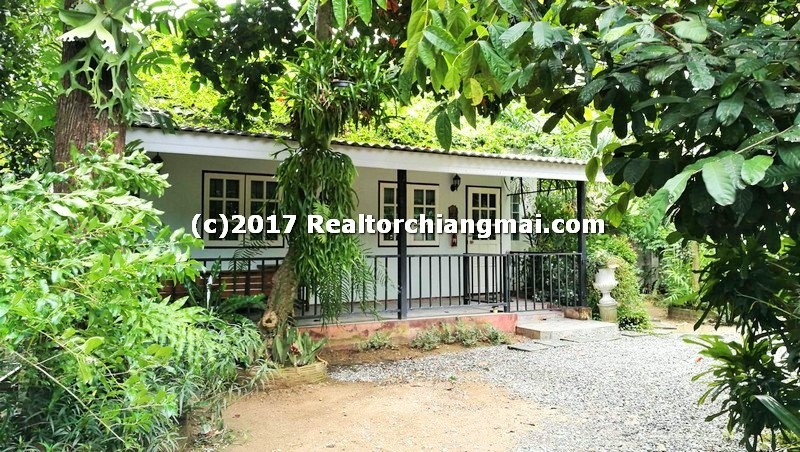 Single Storey Houses for Rent in Chet Yod, Chiang Mai, Thailand.