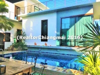 House for Sale Modern Style in Green Valle Golf Club, Mae rim   Chiamgai Thailand