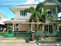 House for rent in San Pee Seua, Muang, Chiangmai. Near Mee Chok Plaza