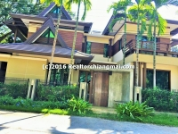 Lanna Modern House for sale near Meechok Plaza. Shock price ! 15 Ml. until end 2016