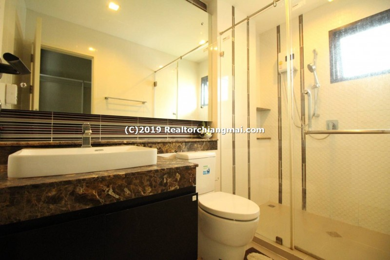 Double Storey House for Rent in Quality Village Near Meechok Market, Chiang Mai.