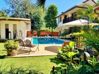 An exclusive private house with private swimming pool for RENT in San Sai, Chiang Mai