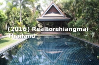 House for Rent  or Sale  with Swimming Pool in Doi Saket, Chiangmai, Thailand