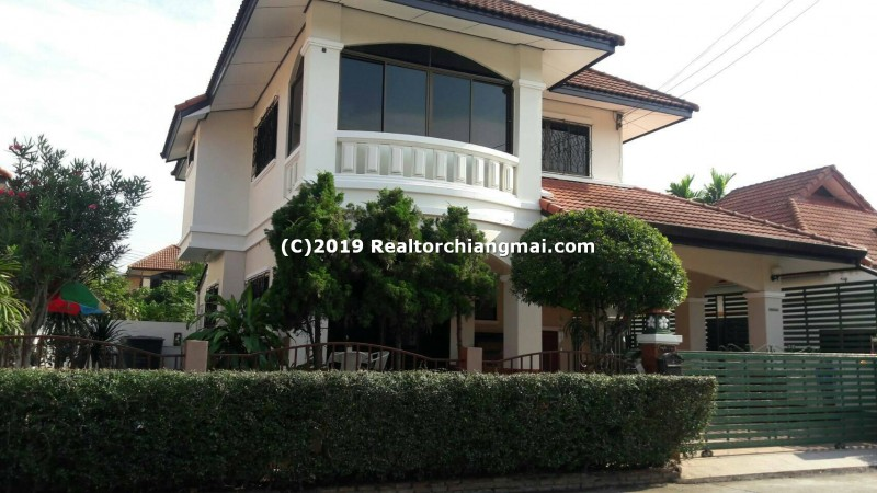 Double Storey House for Rent in San Sai, Chiang Mai, Thailand.