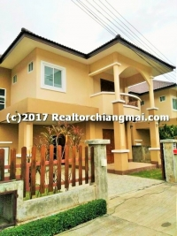 Double Storey House for rent near Central Festival Chiangmai, Thailand.
