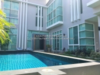 "House for rent with private swimming pool in ""Sintana Village"", Sansai, Chiangmai"