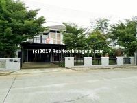 Double Storey House for rent in Doi Saket, Chiangmai, Thailand.