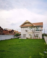 Double Storey House for Rent in Doi Saket District, Chiang Mai.