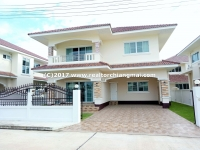 Double storey house for rent in San Kamphaeng, Chiang Mai