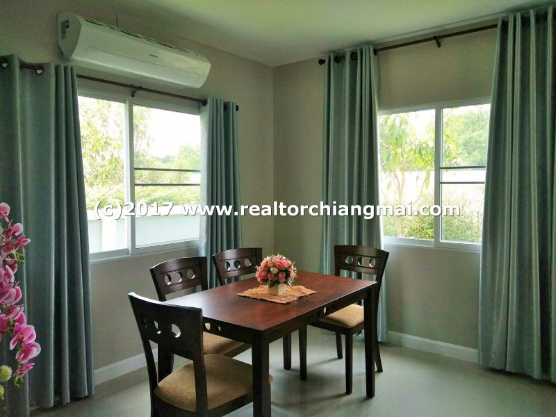 New House for rent in Saraphi, Chiangmai. Near ABS Ambassador Bilingual School