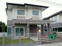 House for rent in Saraphi, Chiangmai, Thailand. Near Promenada Resort Mall Chiang Mai