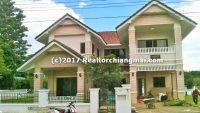 A fully furnished family house for rent in the Saraphi area, Chiangmai, Thailand.
