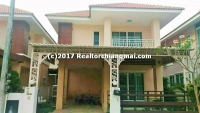Double Storey House for Rent in Saraphi, Chiang Mai, Thailannd.