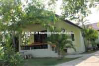 A bungalow for rent in Saraphi, Chiang Mai, Thailand.
