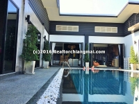 Single Storey house with swimming pool For Rent , Chiangmai, Thailand