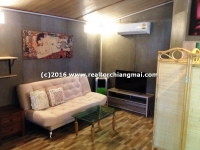 Lovely studio house for rent in Chiangmai, Thailand.