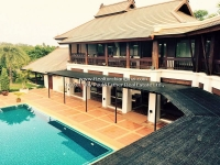 Lanna Resort Style House with private swimming pool for rent in Saraphi, Chiangmai