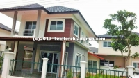 Double Storey House for rent in Hangdong, Chiangmai, Thailand.
