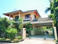Two storey house for rent in Hangdong, Chiangmai, Thailand.